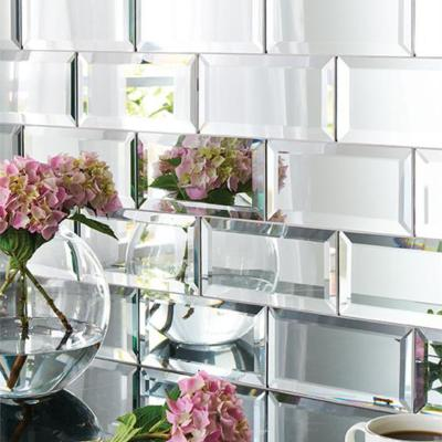 Original Style Glassworks Silver Mirror Wall Tile 200x100mm